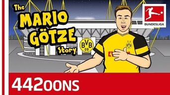 The Story of Mario Götze - Powered By 442oons
