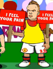 Tom Cleverly Man Utd