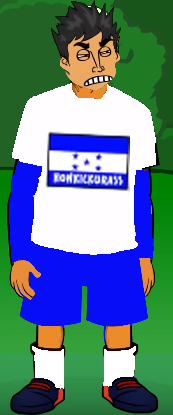 Honkickurass player with tight kit from 2019