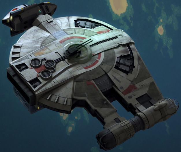 Star Wars Ships YT-2400