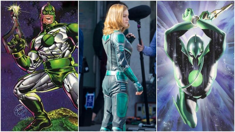 captain marvel green