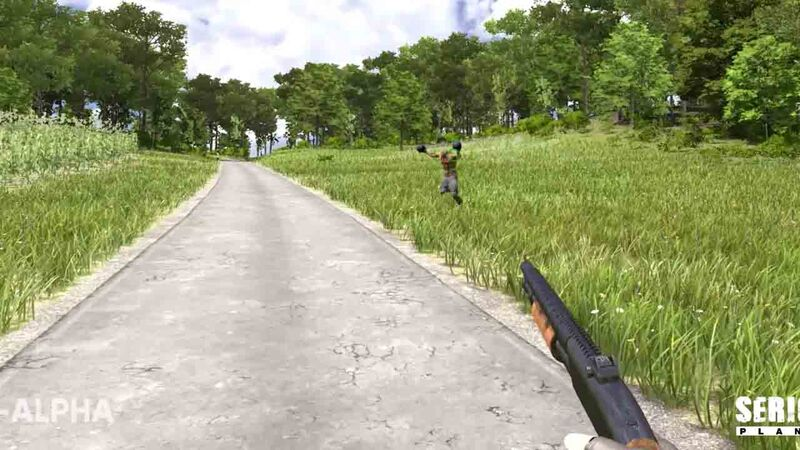 Serious Sam 4 Beheaded Kamikaze motorcycle