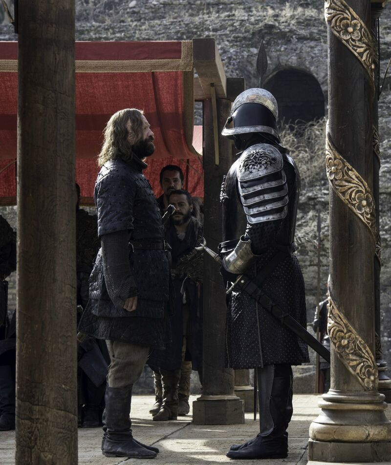 Game of Thrones-Hound and Mountain