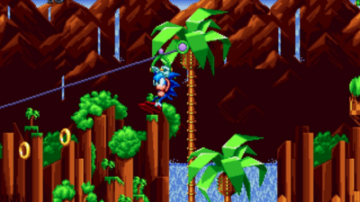 New 'Sonic Mania' Gameplay Shows Off Green Hill Zone