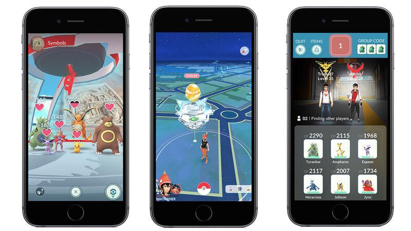 Pokémon Go co-op Raid Battles