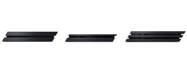 PS4 vs PS4 Slim vs PS4 Pro size comparison