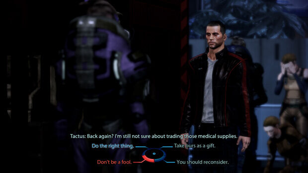 Mass Effect 3 Dialogue Wheel