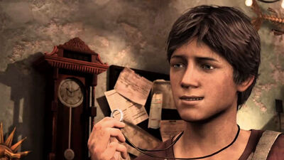 Tom Holland Looks Scarily Like a Young Nathan Drake for the 'Uncharted' Movie