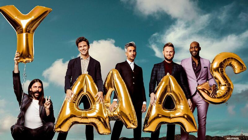 The Fab 5 in 'Queer Eye'