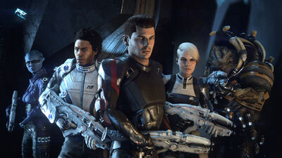 New Multiplayer Details on the 'Mass Effect Andromeda' in Video