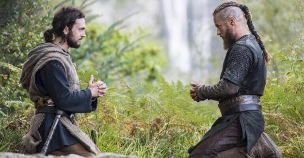Vikings Athelstan Ragnar