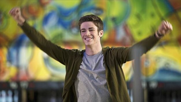 "The Flash -- ""Out of Time"" Pictured: Grant Gustin as Barry Allen"