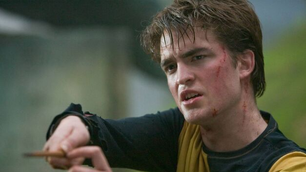 Pattinson as Cedric Diggory