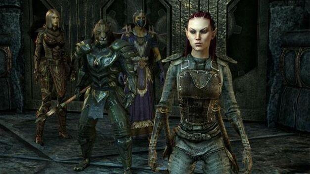 Elder Scrolls Online Party