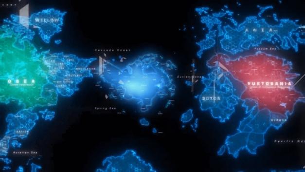 Strangereal World Map
