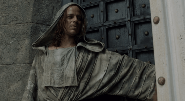 Jaqen Hghar game of thrones faceless men opens steel door