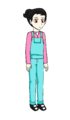 Aiko Worker Outfit