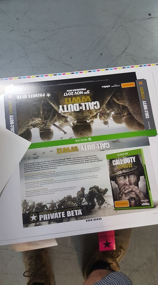 COD WWII leaked Promo material
