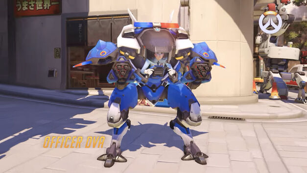 Officer D.Va Heroes of the Storm mech