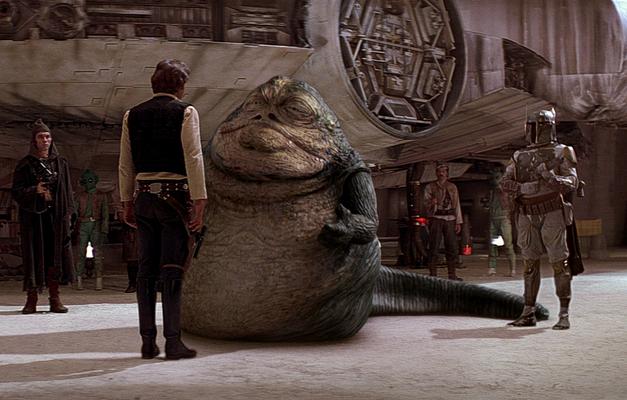 Boba Fett Hutt Solo Star Wars