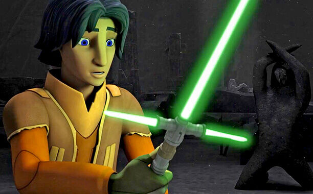 Ezra Crossguard Lightsaber