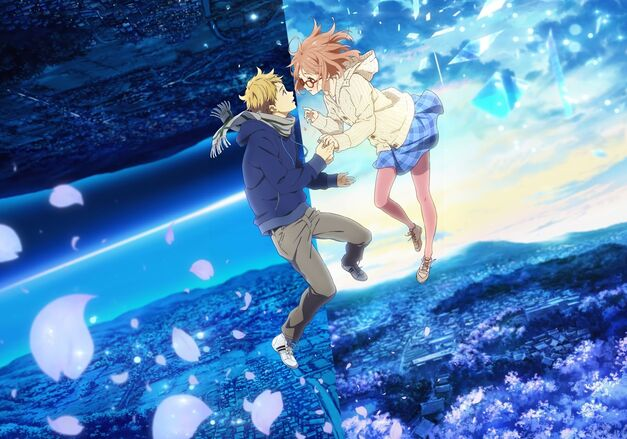 meaning cherry blossoms in anime Beyond the Boundary