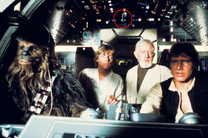Star Wars Millennium Falcon cockpit