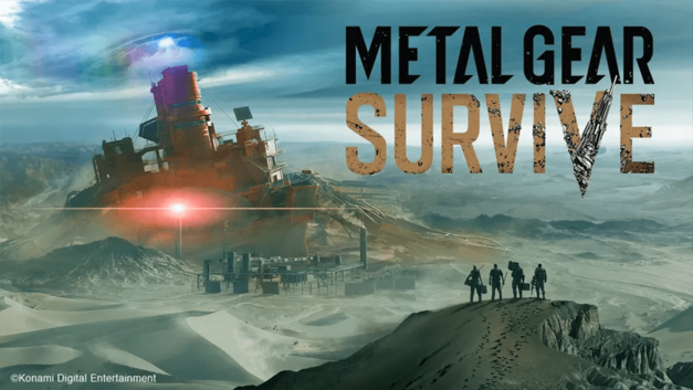 Metal Gear Survive Reveal