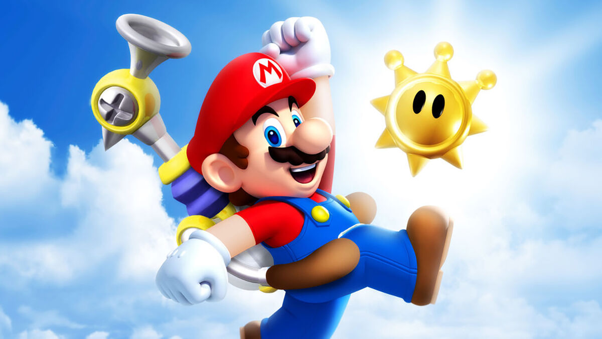 Super Mario Sunshine GameCube games list FLUDD