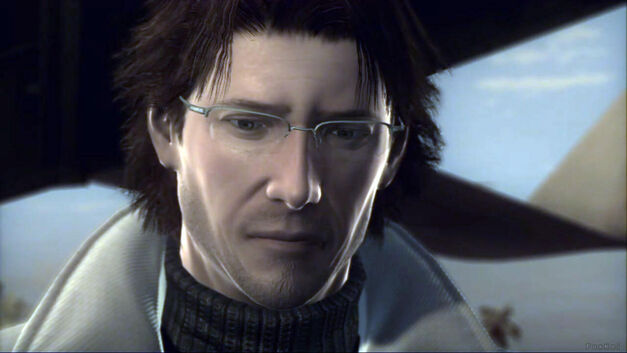 Otacon in Metal Gear Solid game