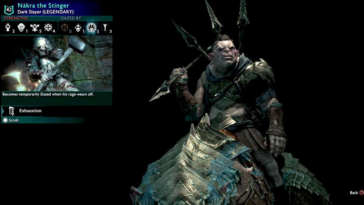 Shadow of War loot box orc minion