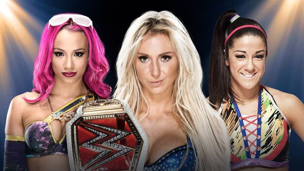 Sasha Banks, Charlotte, and Bailey face off at WWE Clash of Champions