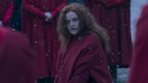 Janine in The Handmaid's Tale