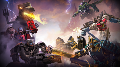 Meet the Bots of 'Transformers: Forged to Fight'