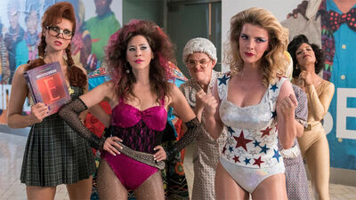 Season 2 of 'GLOW' Clotheslines the Competition This Summer