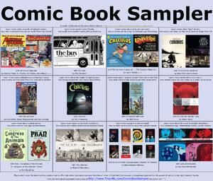Comic book sampler