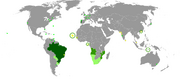 Map of the portuguese language in the world-1-