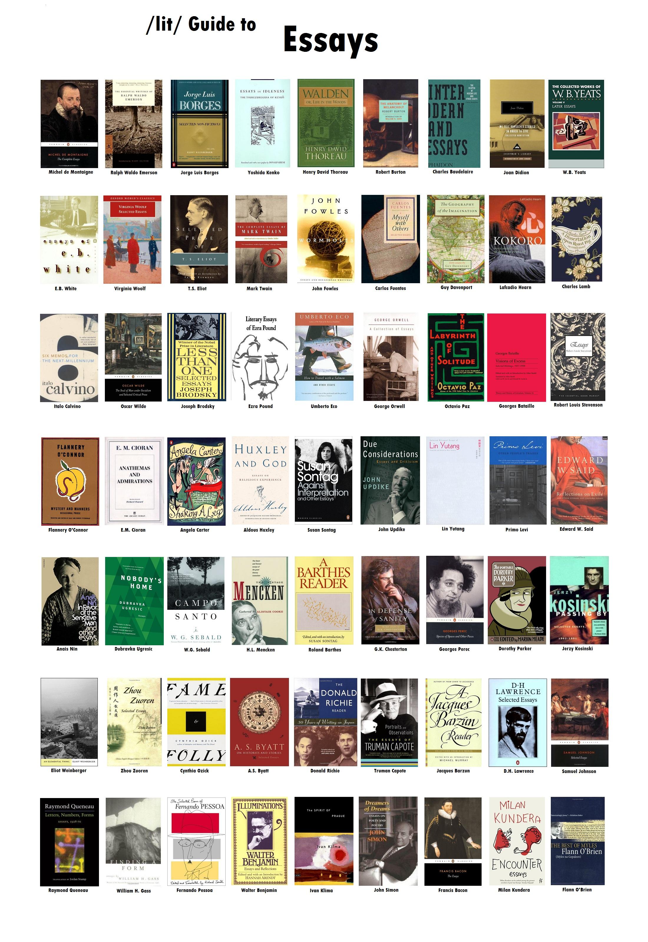 Essays | /lit/ Wiki | FANDOM powered by Wikia