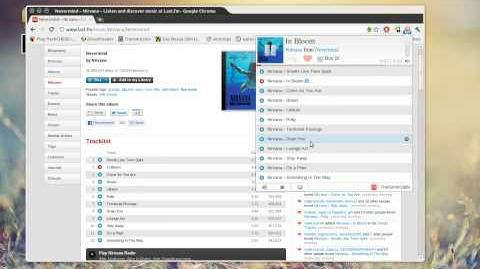 Chrome Last.fm free music player = awesome-1