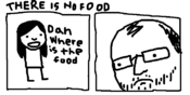 Dan where is the food