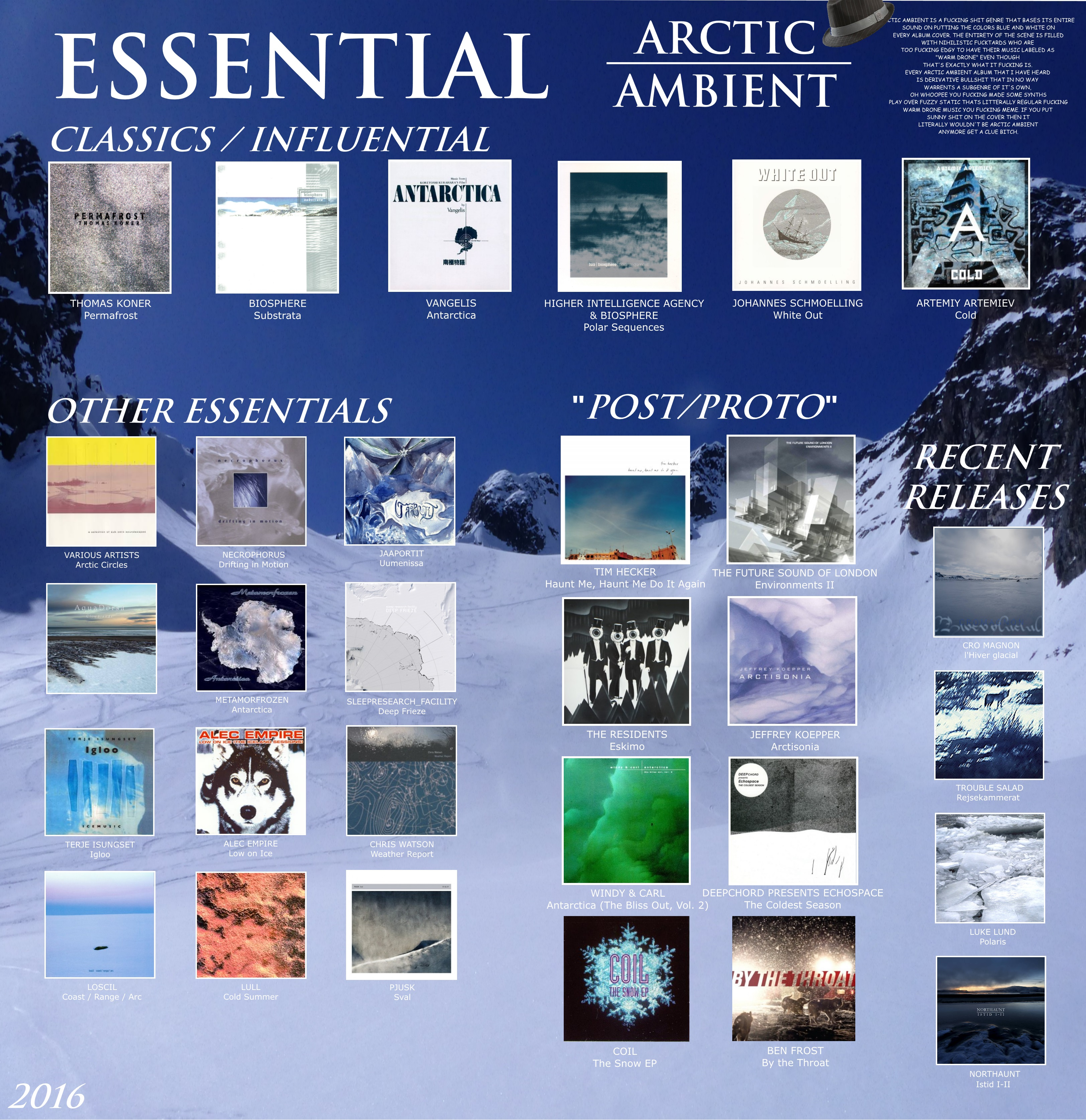 RYM Ultimate Box Set > Arctic Ambient - Rate Your Music