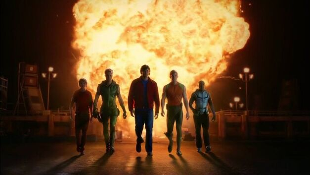 justice-smallville-heroes-explosion