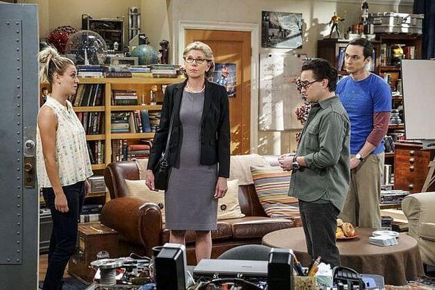 The Big Bang Theory awkward moment