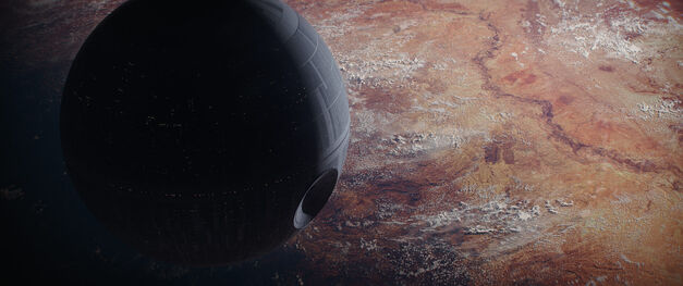 Star Wars Rogue One death star