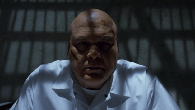 Kingpin in Prison Daredevil