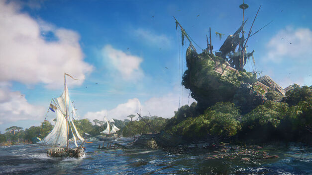 Ubisoft's pirate ship game Skull & Bones has a narrative campaign, too