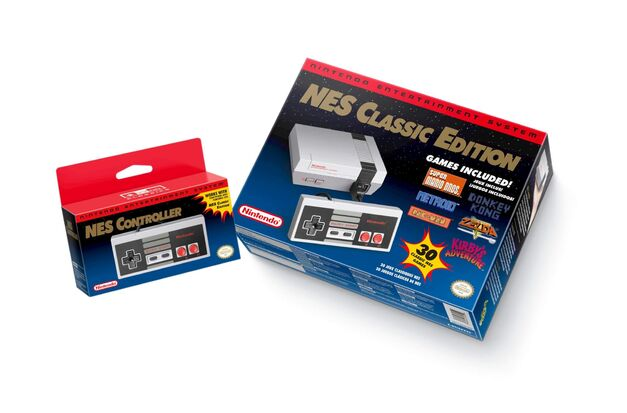 NES classic edition package