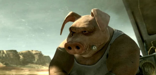 Beyond Good & Evil 2 pig man