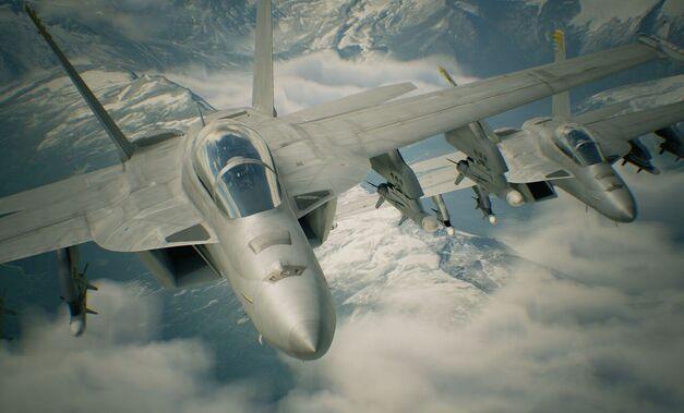 Ace Combat 7 FA-18F Super Hornets