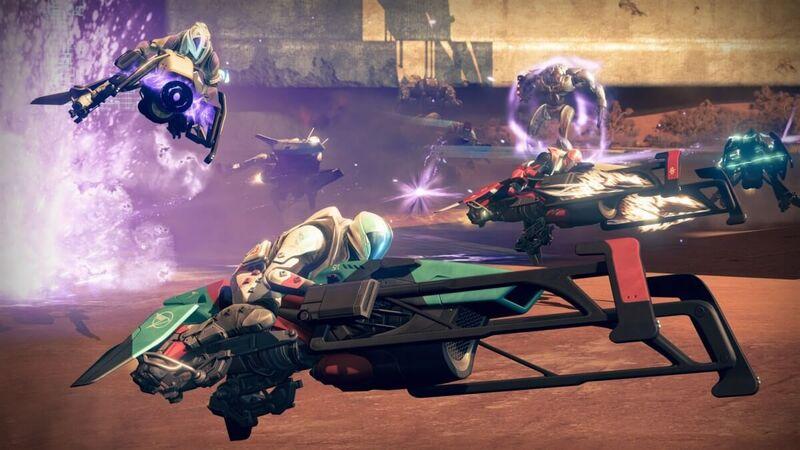 Destiny Year 2 Sparrow Racing League